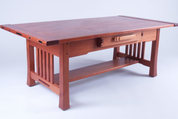 Fine Woodworking End Table Plans: Greene & Greene Inspired Coffee Table